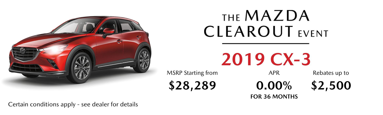 2019 Mazda CX-3 GS Auto AWD
