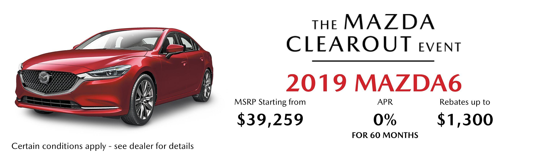 2019 Mazda Mazda6 GT Auto