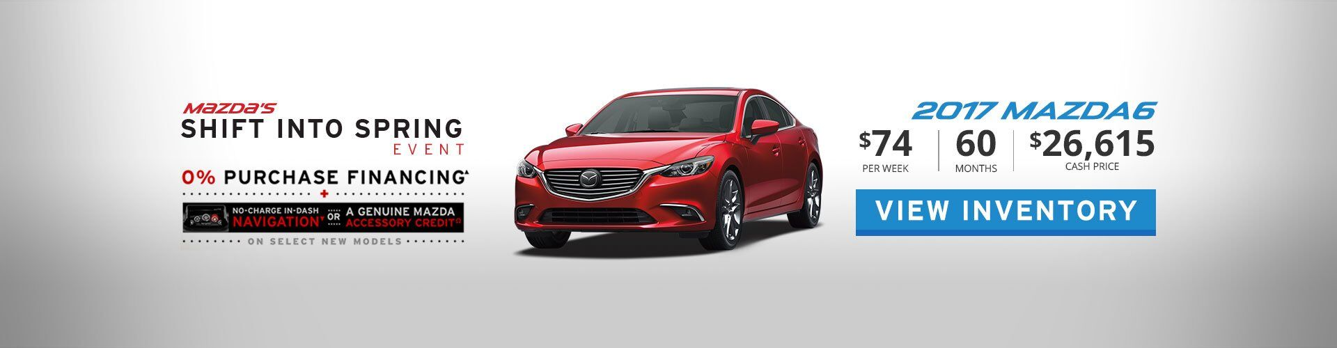 2017 Mazda6 4dr Sdn 2.5L AT GX