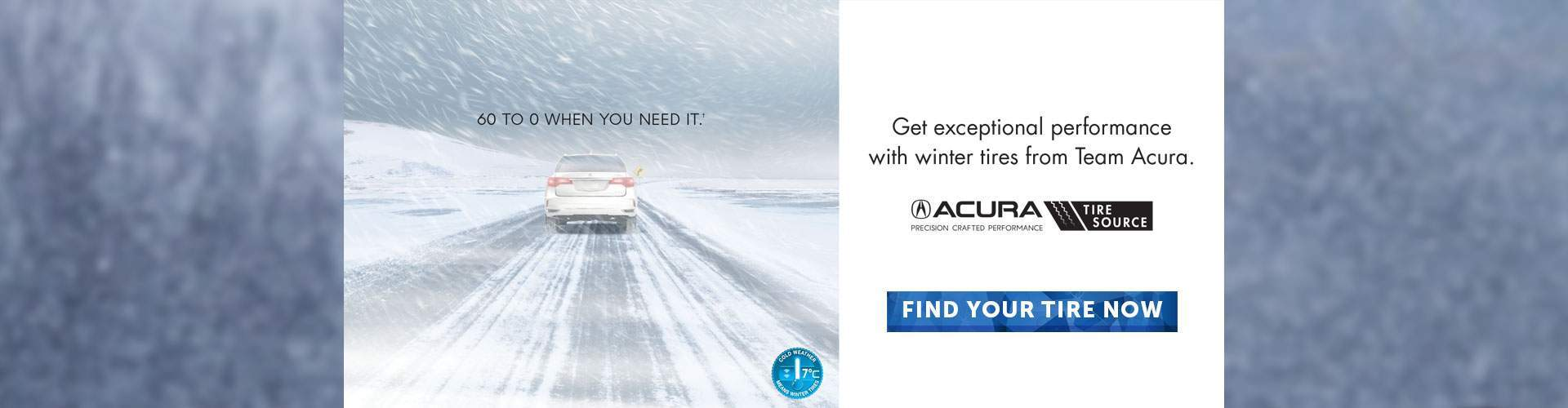 Acura WInter Tires