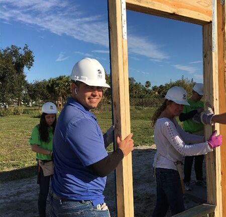 Scanlon Auto Group 2019 Habitat Build Photo Randy and Heather