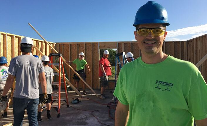 Scanlon Auto Group 2019 Habitat Build Photo Shaun Volkmann
