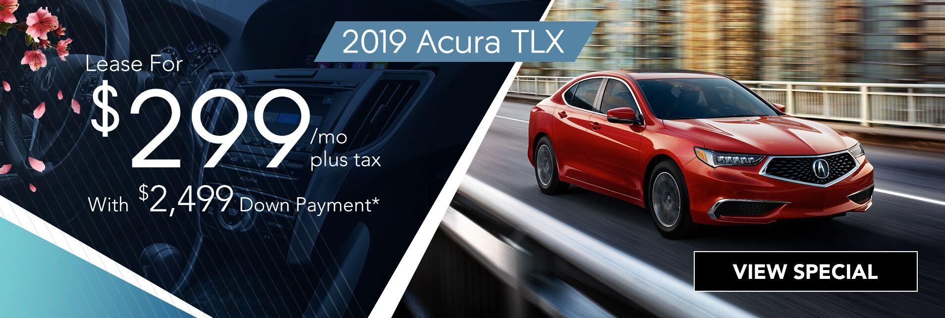 April 2019 Tlx Specials