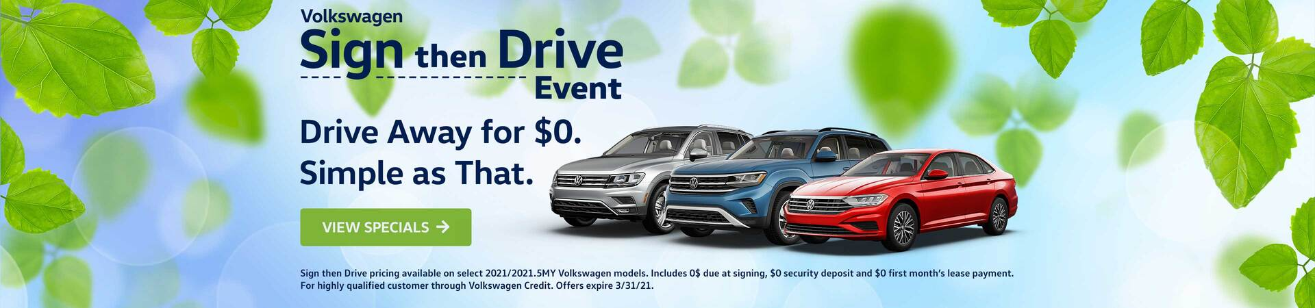 Sign Then Drive Event - 2021