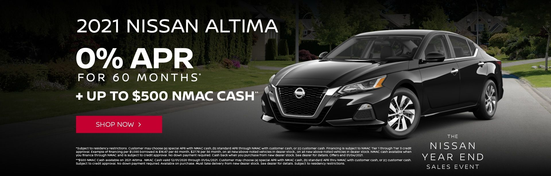 Year End Altima