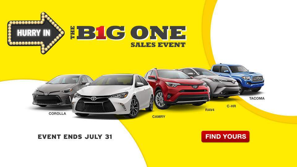 Big One Sales Event July
