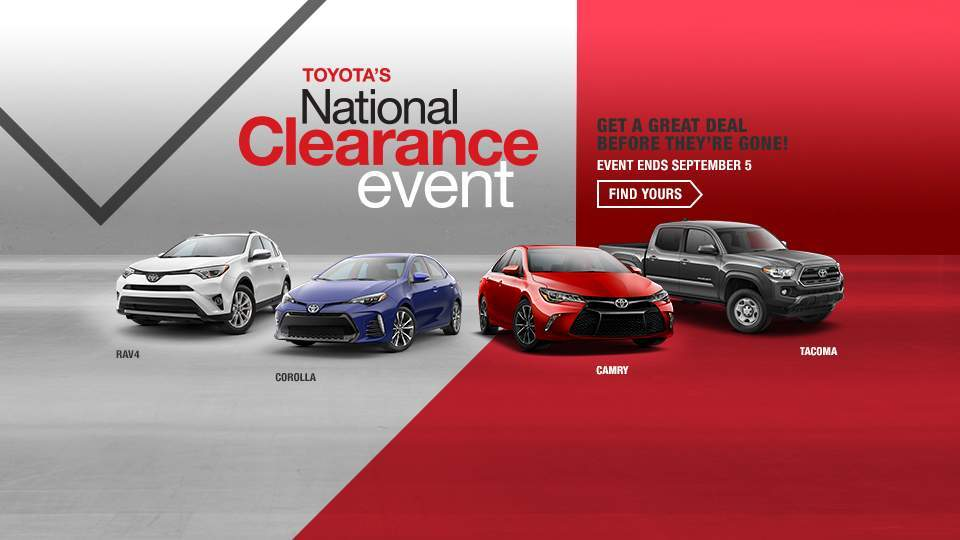 Toyota Annual Clearance Event at Ed Morse Delray Toyota