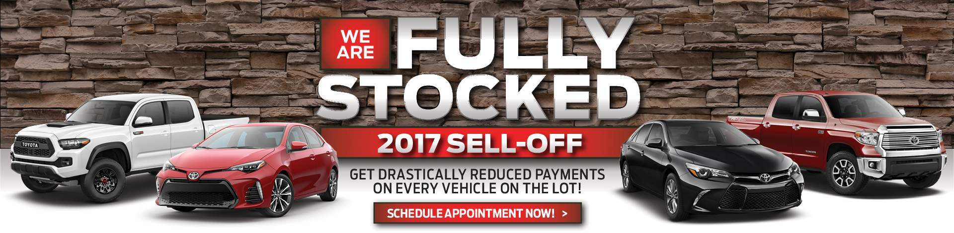 2017 Sell-off at Ed Morse Delray Toyota