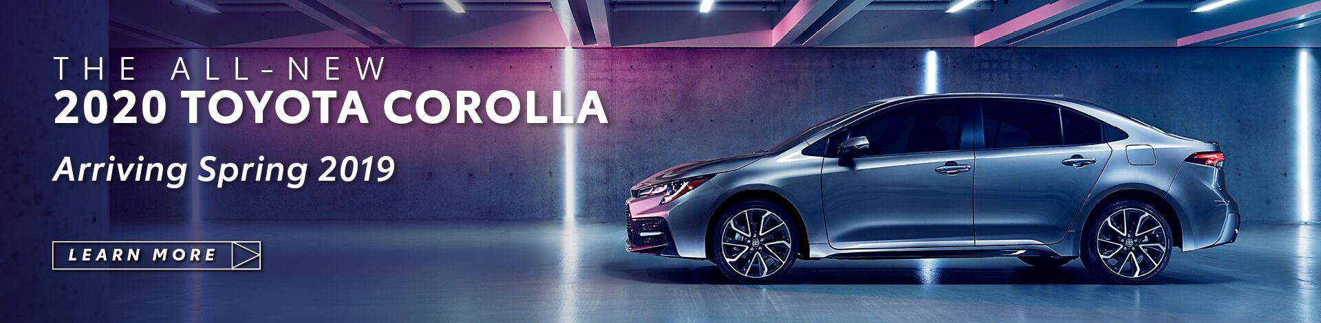All New 2020 Toyota Corolla