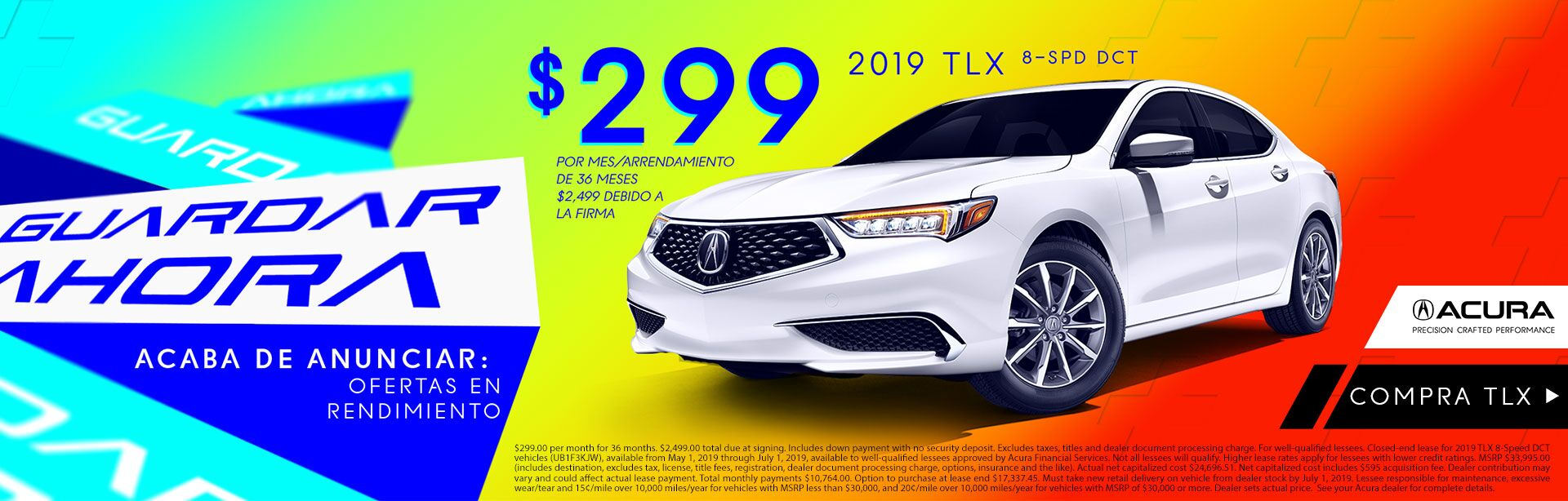 2019 TLX at Acura of Modesto