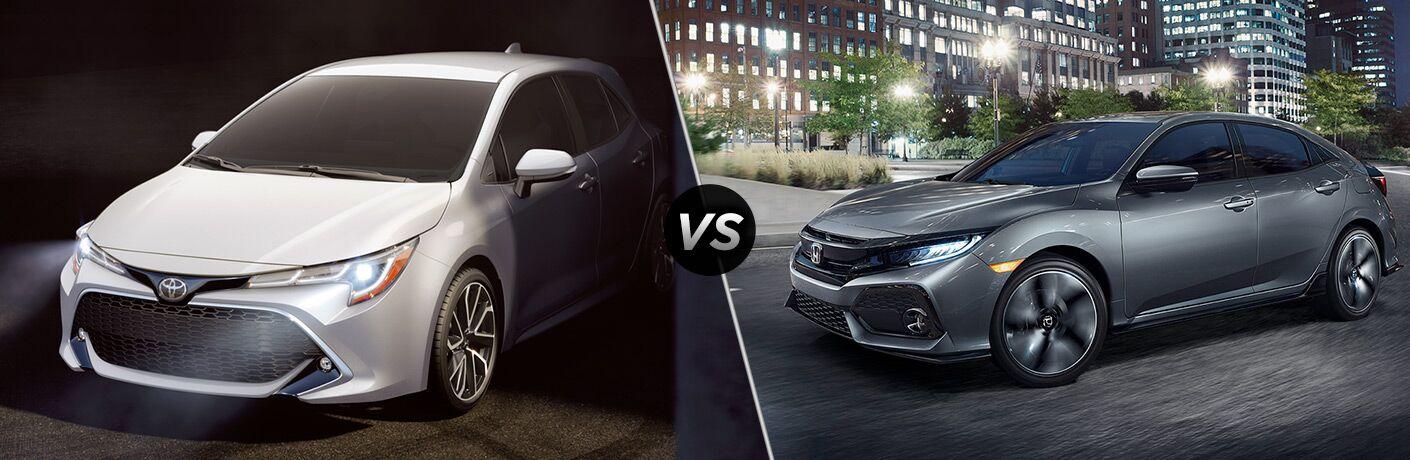 Honda civic 2018 vs 2019