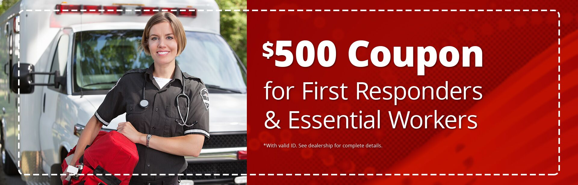 $500 for First Responders