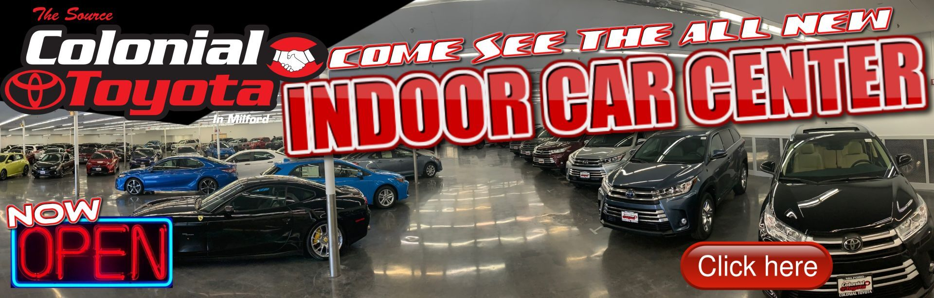 New Indoor Car Center