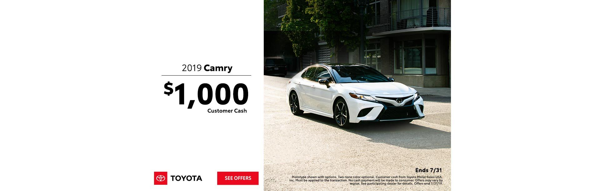 Camry Offer