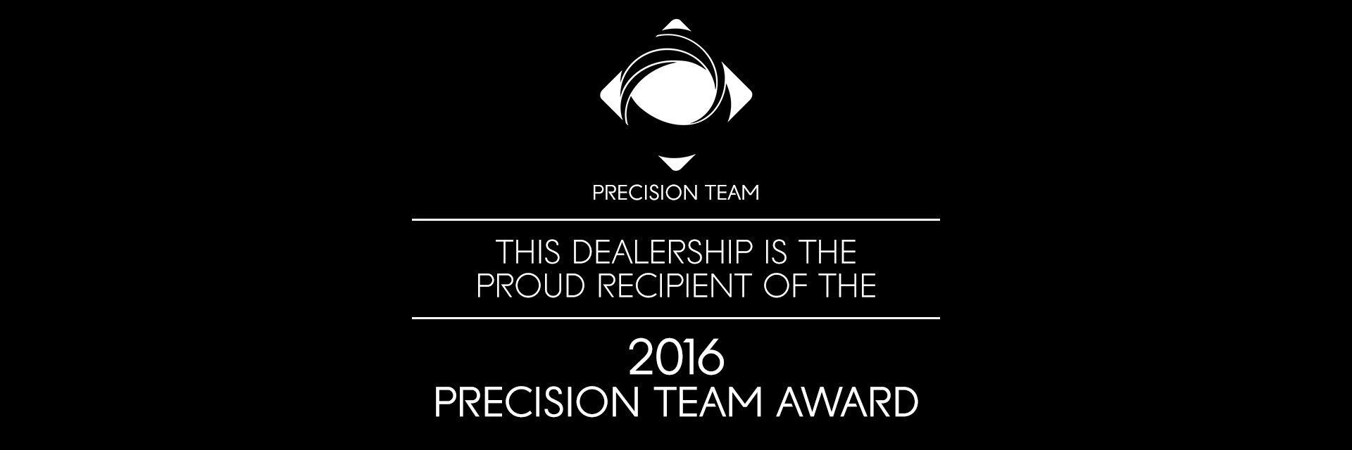 2016 Precision Team Award