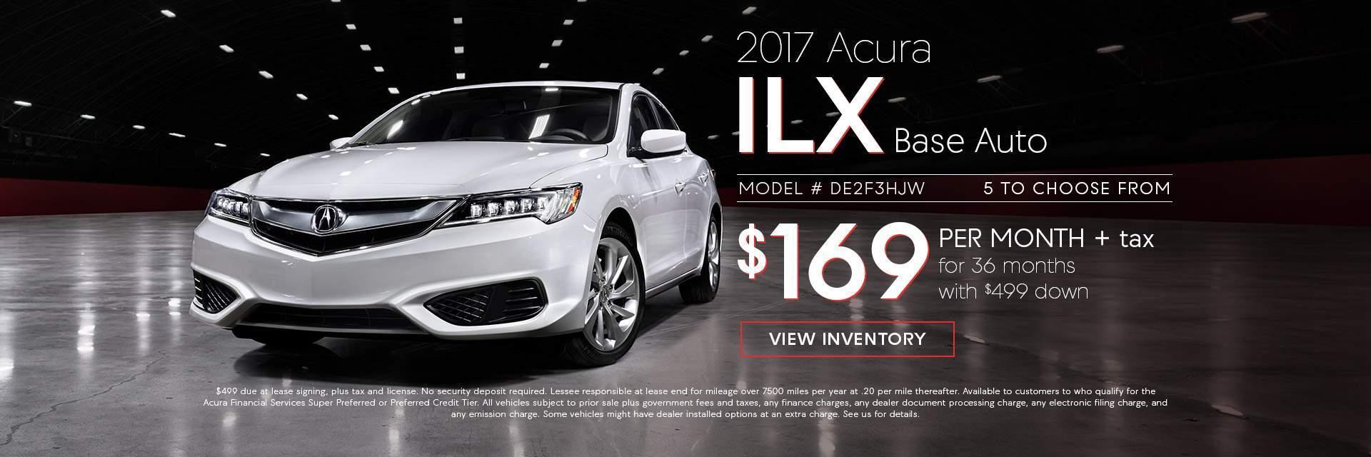 2017 Acura ILX Base