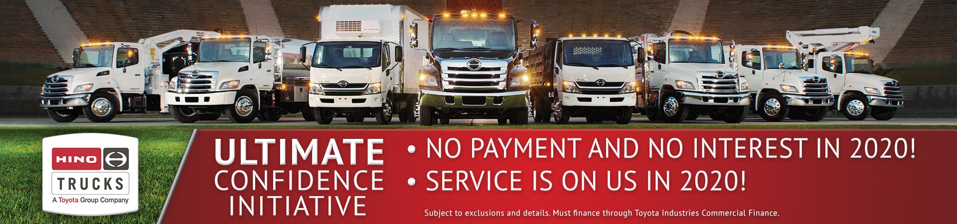 Hino 2020 Sales Promotion