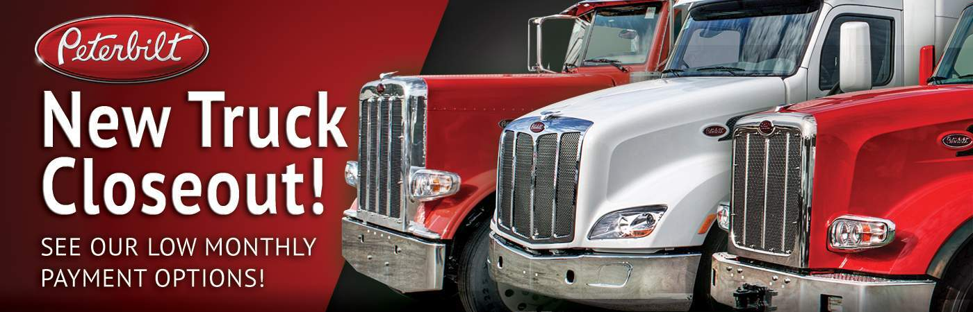 Closeout Peterbilt Trucks