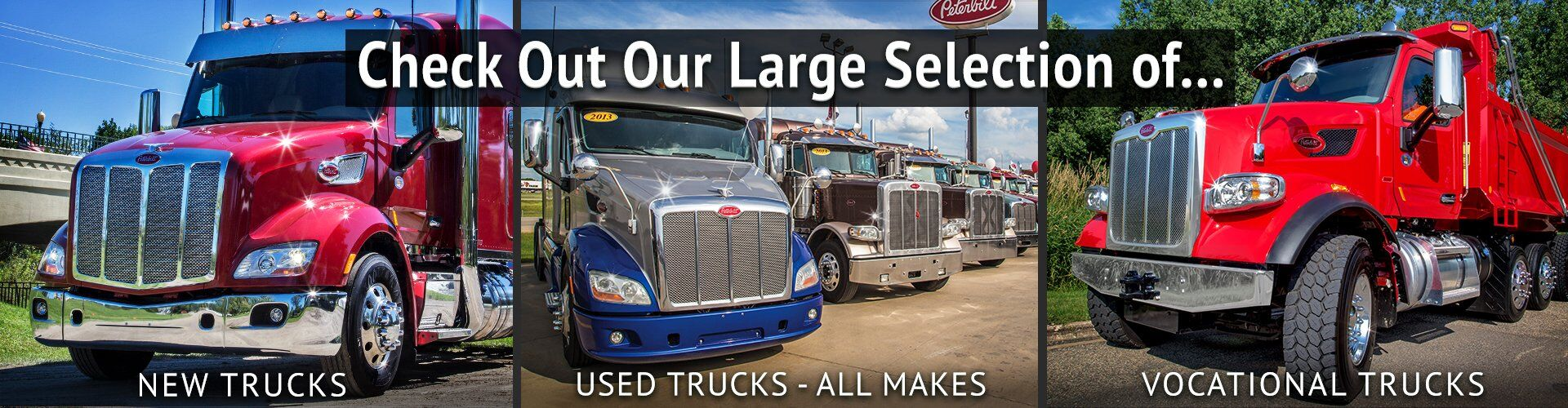 Check Out Our New, Used and Vocational Trucks