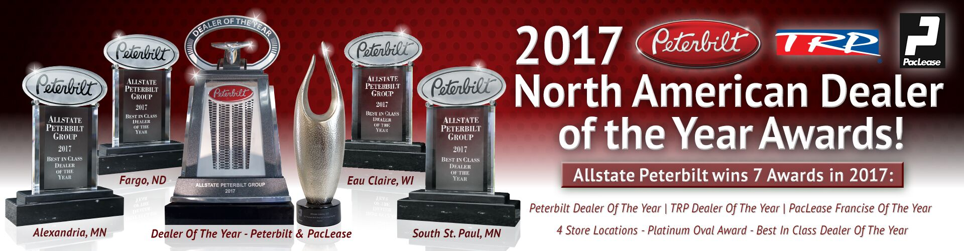 2017 Peterbilt Dealer of the Year - Allstate Peterbilt Group