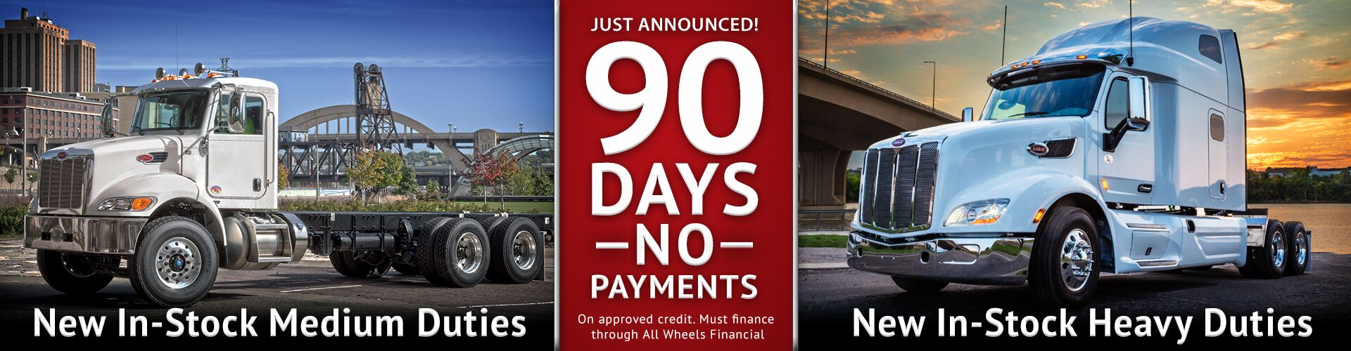 90 Days No Payments on New In-Stock Trucks