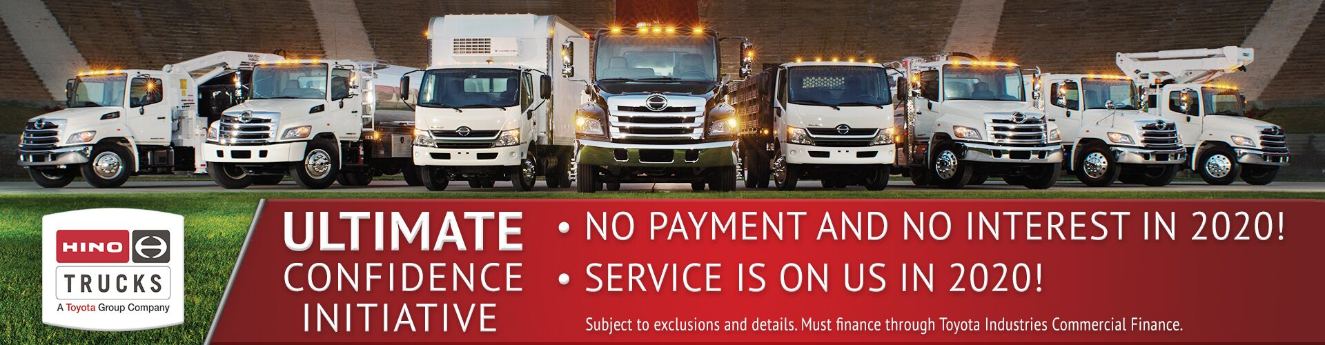 Hino Ultimate Confidence Initiative Offer
