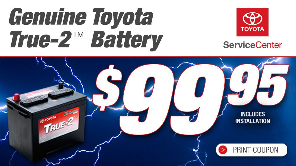 Toyota True-2 Battery