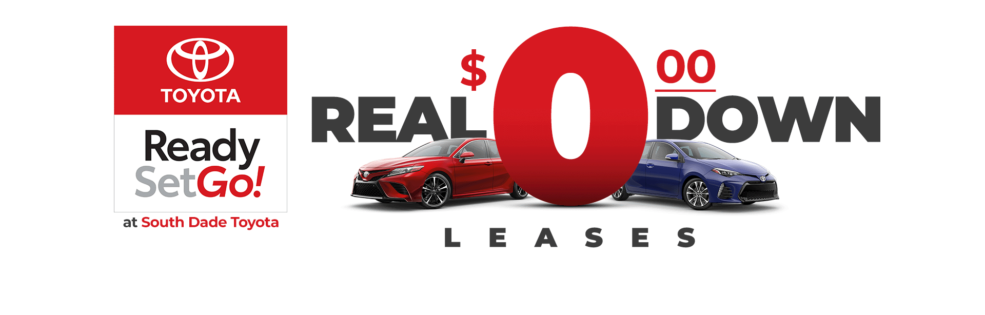 Real 0 DOWN Lease Offers