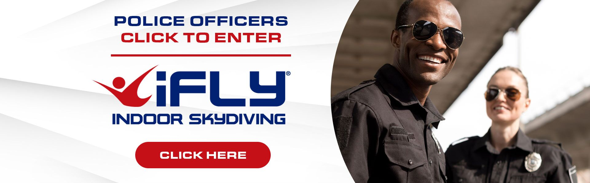 Police Officers iFly Indoor Skydiving Event