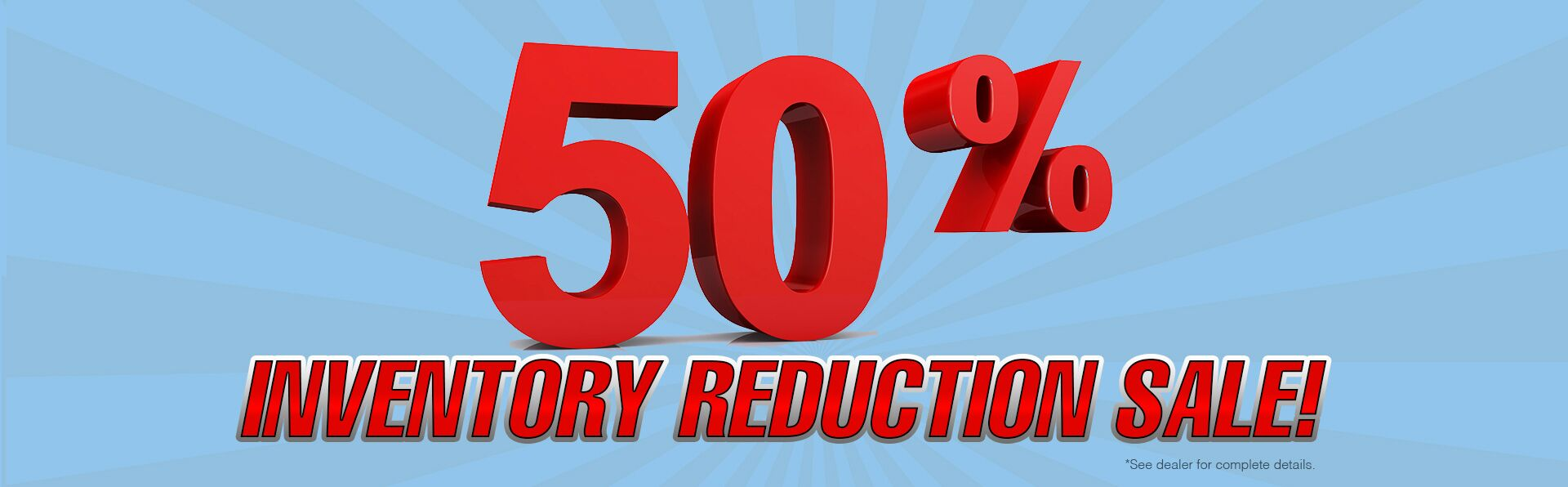 50% Inventory Reduction