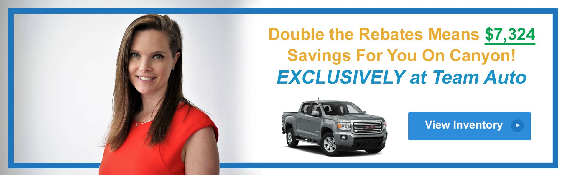 Double the Rebates Canyon