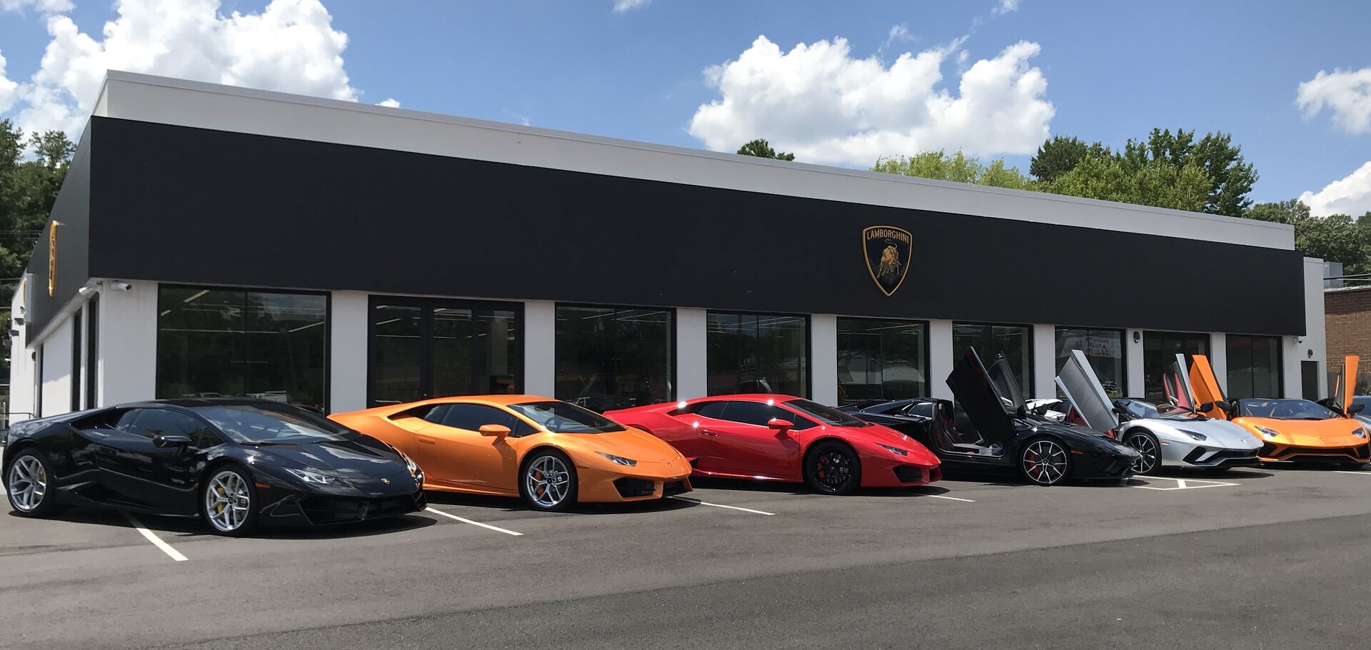 Nearest lamborghini dealership