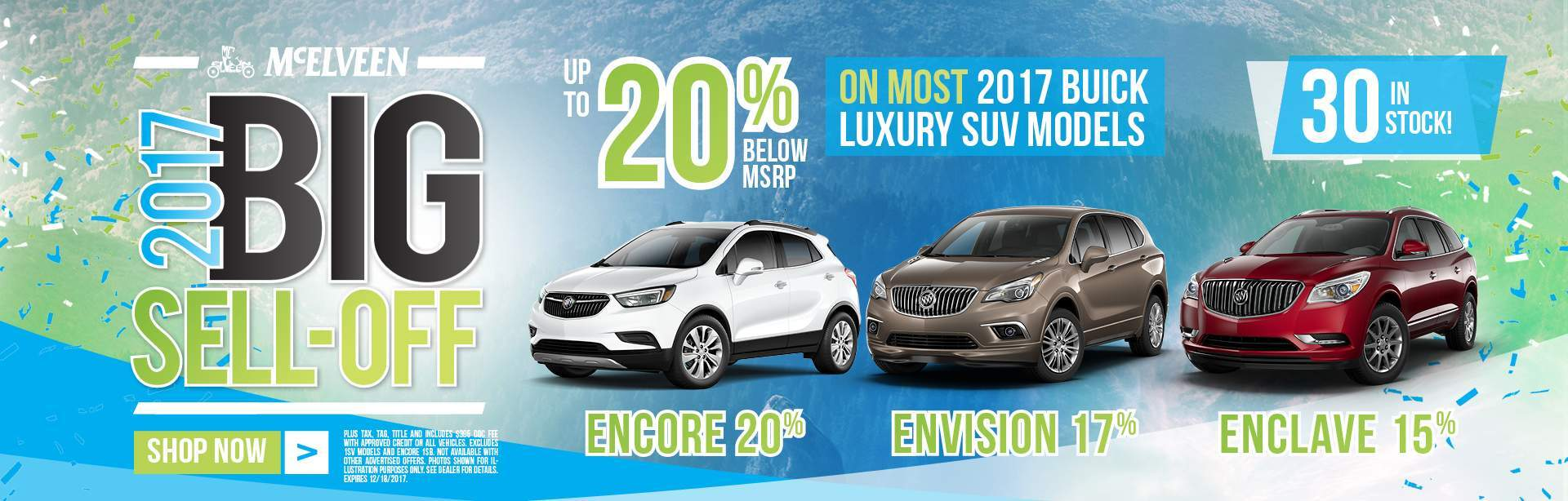 2017 Buick Clearance