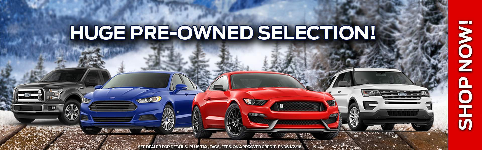 Huge Pre-Owned Selection
