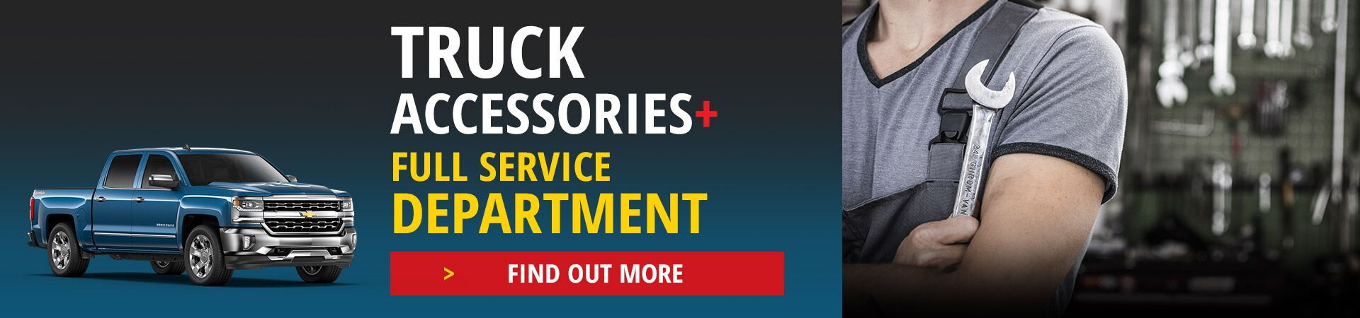 Truck Accessories & Full Service Department