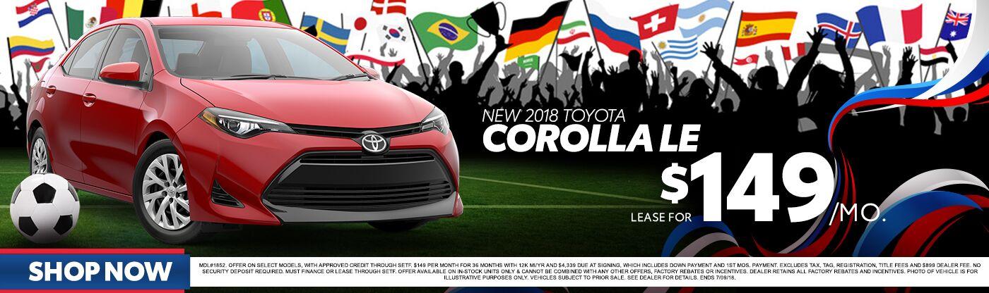 Corolla World Cup Promo