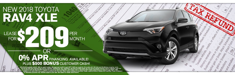 2018 Toyota Rav4 Tax Return