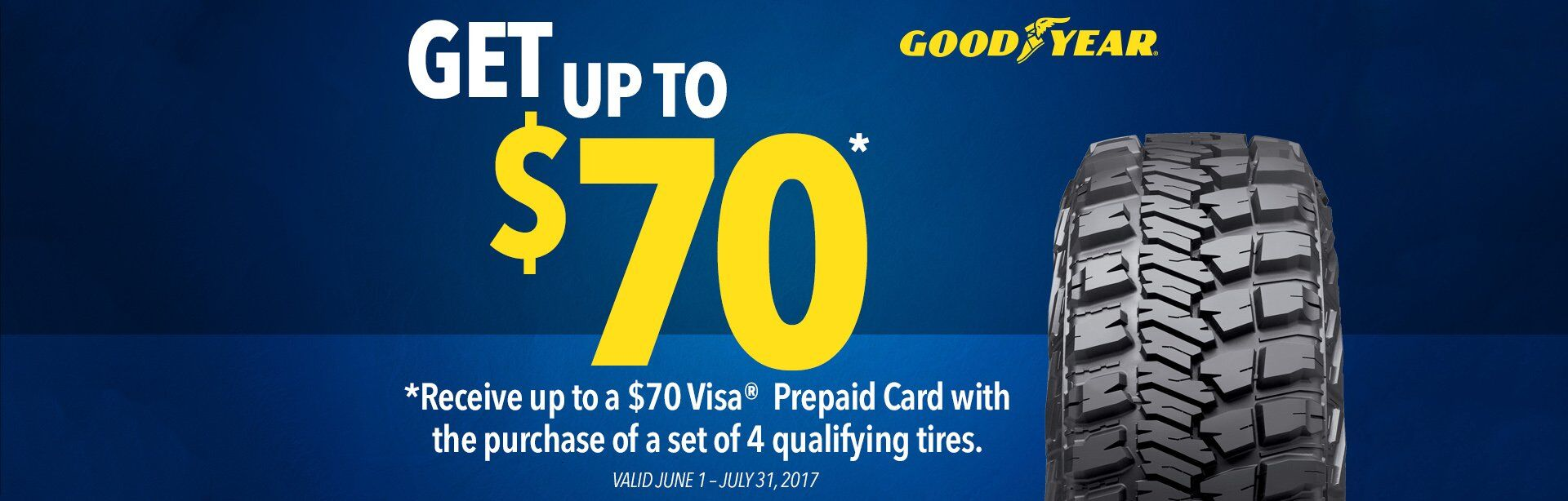 Good Year Tire Offer