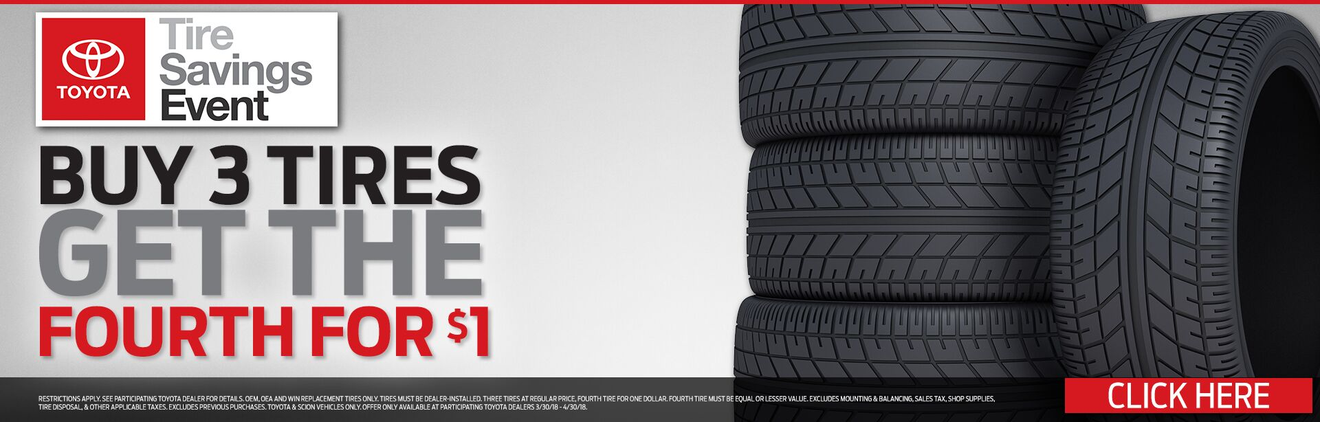 Tire Savings Event
