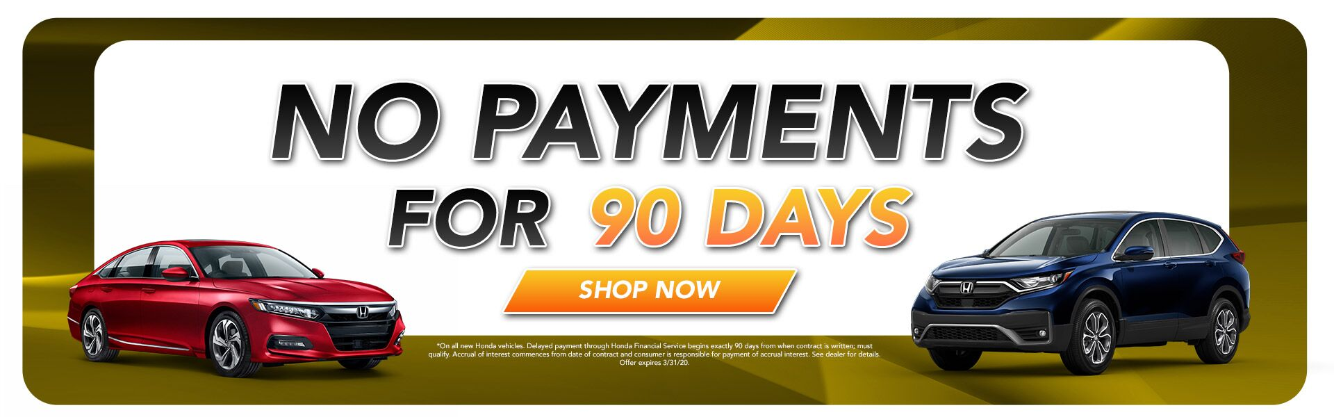 90 dayno payment