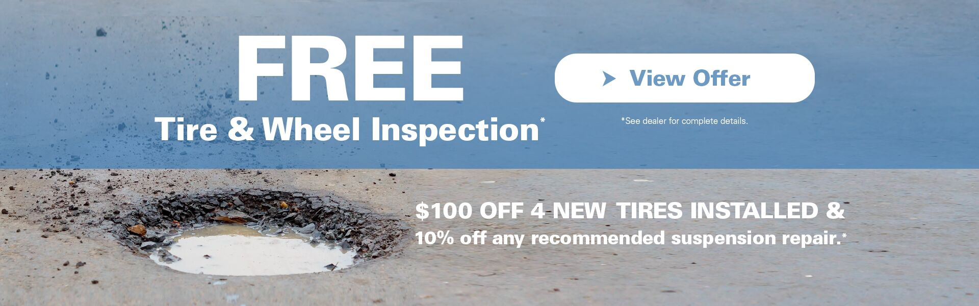 Free Tire & Wheel Inspection