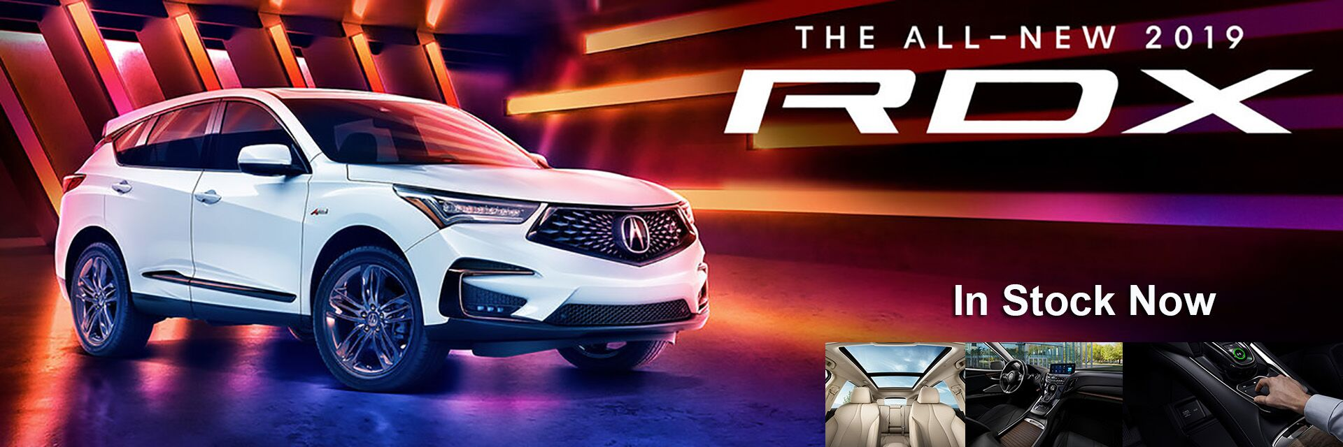 2019 RDX in Stock Now