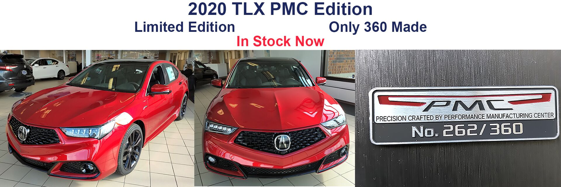 2020 TLX PMC Edition