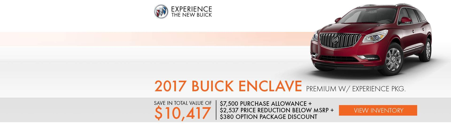 October 2017 Buick Enclave Premium Slide