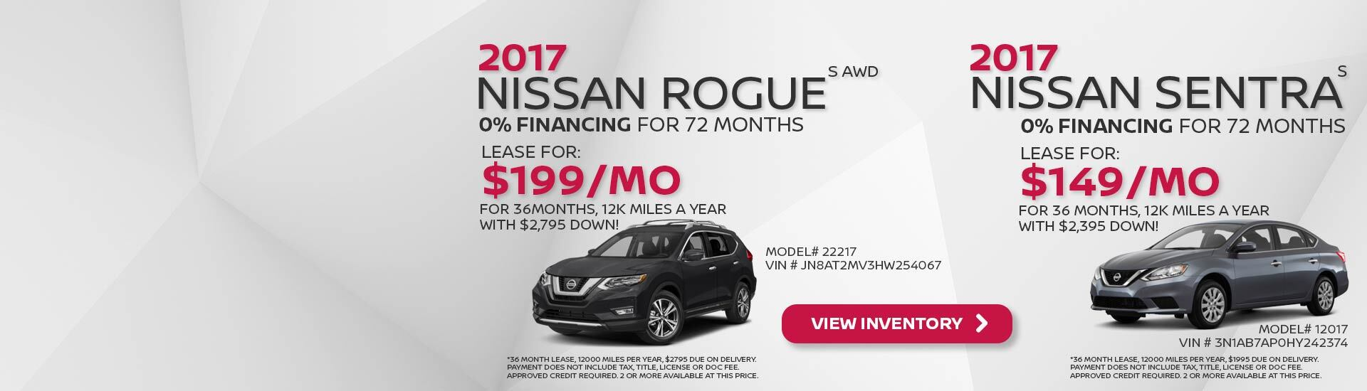 June Nissan Incentives