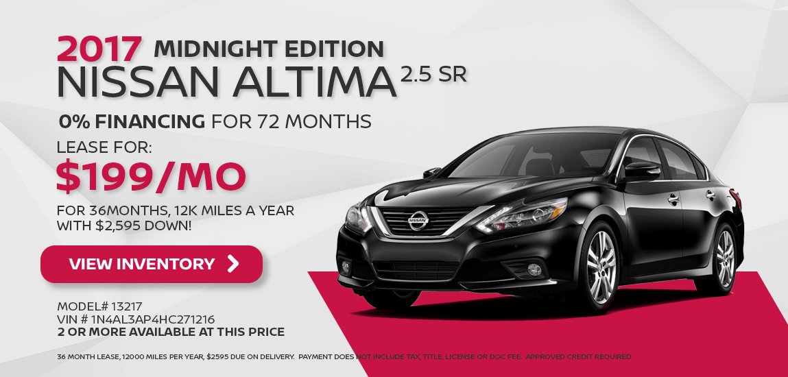 2017 Altima Midnight Edition Special Mobile