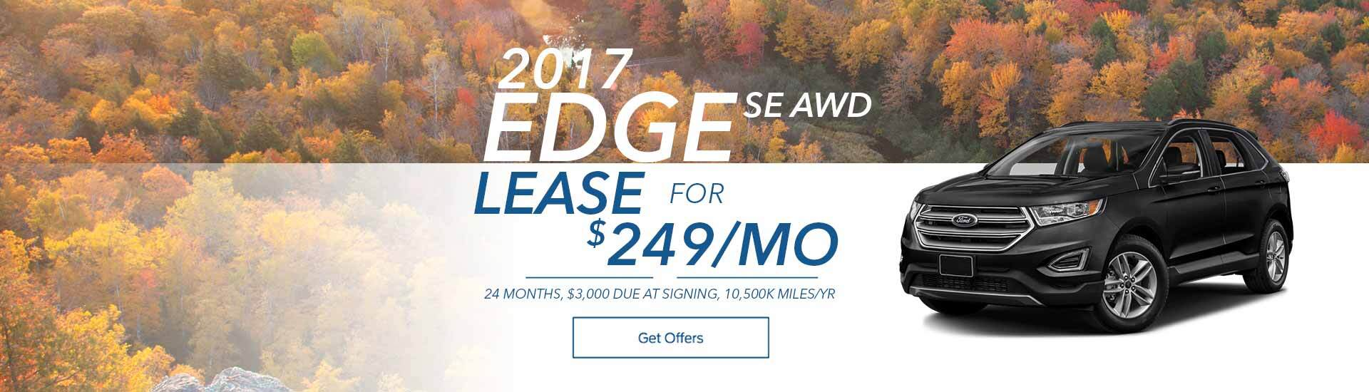 Cole Ford Edge 2017 September Special