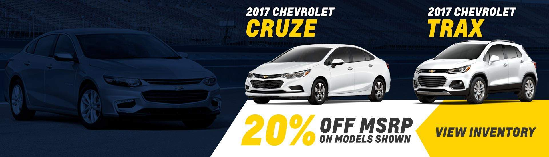 2017 September Cruze and Trax Special