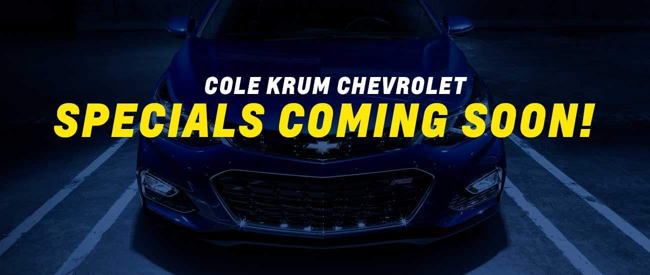 Cole Krum Chevrolet Display Slide