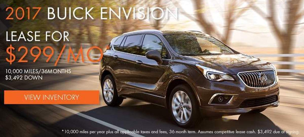 Buick Envision Mobile Offer